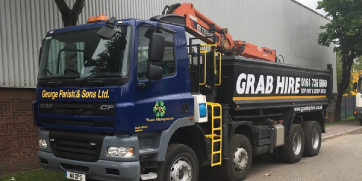 Salford Grab Hire Services from George Parish & Sons
